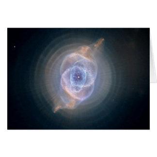 Cartão Nebulosa do olho de gato