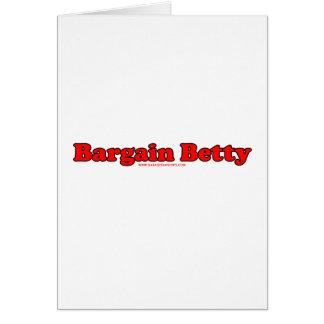 Cartão Negócio Betty