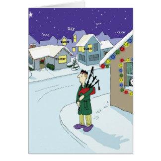 Cartão Nenhuma noite silenciosa na vizinhança de Duncans