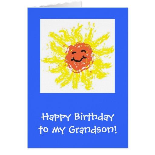 Cartão/neto feliz aniversario