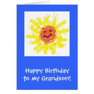 Cartão/neto feliz aniversario cartão comemorativo