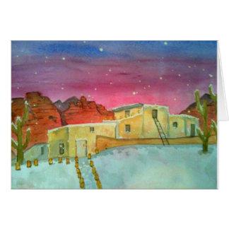 Cartão Neve em Sedona