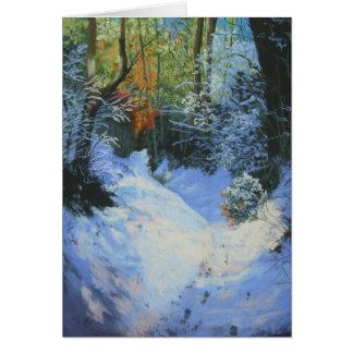 Cartão Neve no trajeto a Mardon