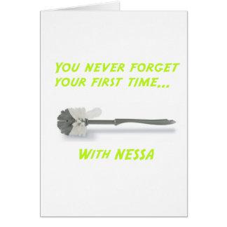 Cartão Neverforget1stNessa