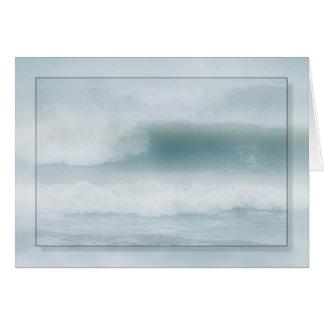Cartão Névoa do mar