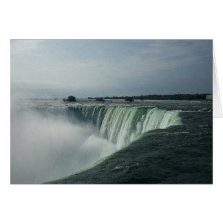 Cartão Névoa sobre Niagara