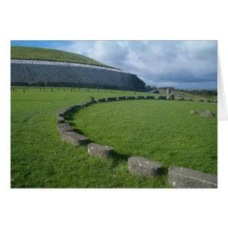 Cartão Newgrange, Ireland.