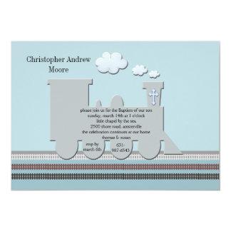 Cartão No azul da trilha