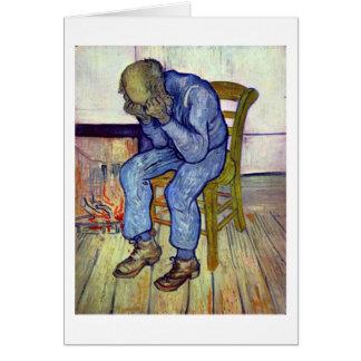 Cartão No limiar da eternidade por Vincent van Gogh
