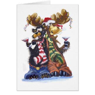 Cartão Nogged Noel