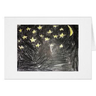 Cartão Noite da estrela E