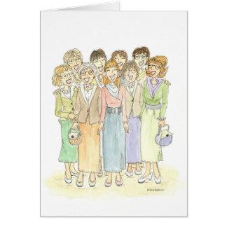 Cartão Noite das senhoras