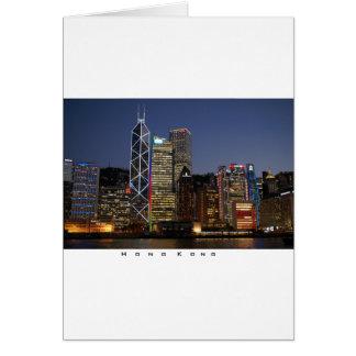Cartão Noite de Hong Kong