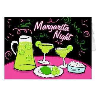 Cartão Noite de Margarita