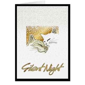 Cartão Noite silenciosa