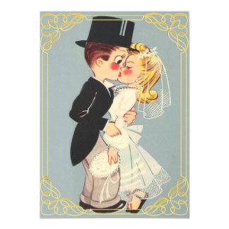 Cartão Noivos quadro bonitos