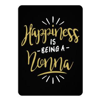 Cartão Nonna feliz