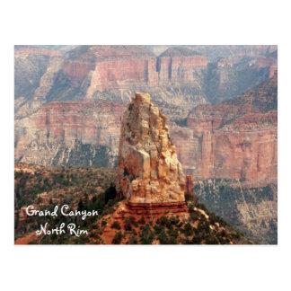 Cartão norte da borda do Grand Canyon Cartao Postal