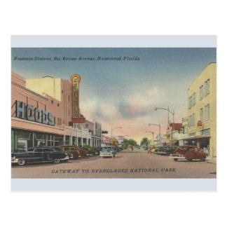 Cartão norte de FL da herdade da avenida de Krome