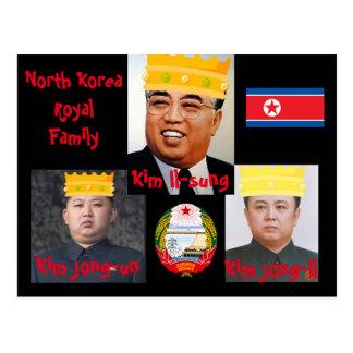 Cartão norte dos meninos de Korea* Kim