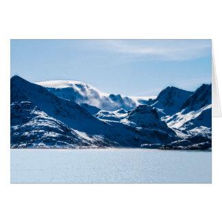 Cartão Noruega calma 2