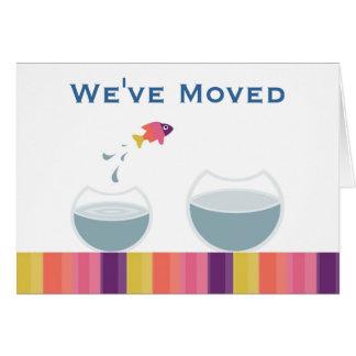 Cartão Nós movemo-nos