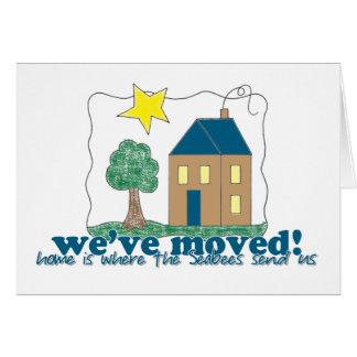 Cartão Nós movemos… home somos onde os Seabees nos