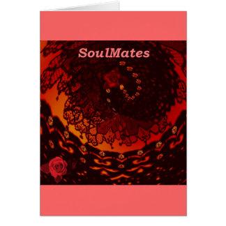 """Cartão """"Nós somos SoulMates """" *"""