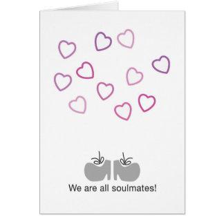 Cartão Nós somos todos os soulmates