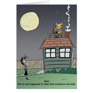 Cartão Nossa casa não é uma casa - irritante é Kryptonite