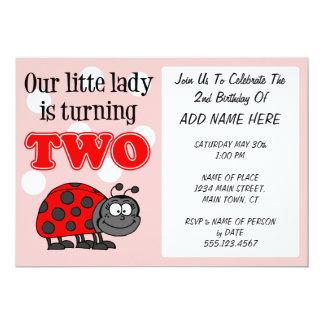 Cartão Nossa senhora pequena Ser Turning dois
