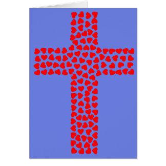 Cartão Nosso casamento é-nos um presente do deus