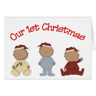 Cartão Nosso ø Natal 2009 (objectivas triplas do
