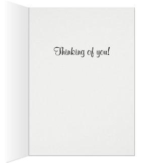 Cartão Notecard do farol da ilha de Tybee