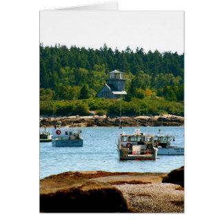 Cartão Notecard Stonington, Maine