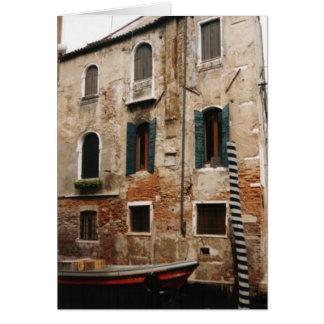 Cartão Notecard v2 de Veneza