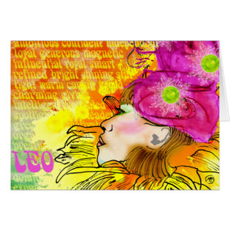 Cartão Notecards de Leo
