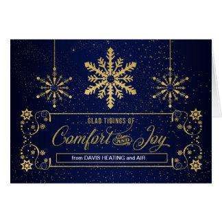Cartão Notícias contentes do feriado do negócio do
