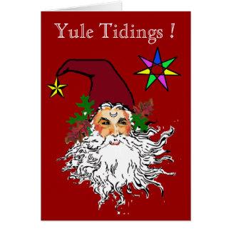 Cartão Notícias de Yule
