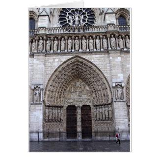 Cartão Notre-Dame de Paris France