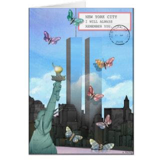Cartão Nova Iorque, eu recordá-lo-ei sempre