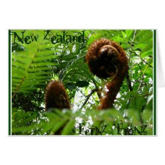 Cartão Nova Zelândia FerNZ FroNZ
