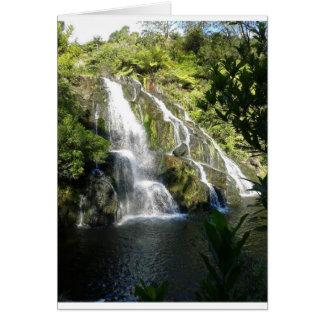 Cartão Nova Zelândia por natureza