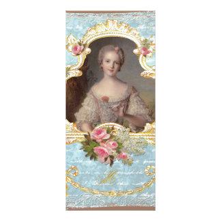 Cartão novo da cremalheira dos rosas de Marie Anto Panfleto Personalizado