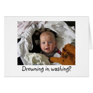 Cartão novo da garantia do bebê do divertimento