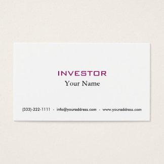 Cartão novo do accionista do dinheiro da ideia