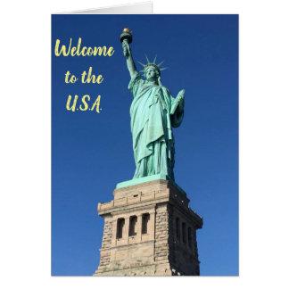 Cartão novo do cidadão: Dê boas-vindas aos EUA à