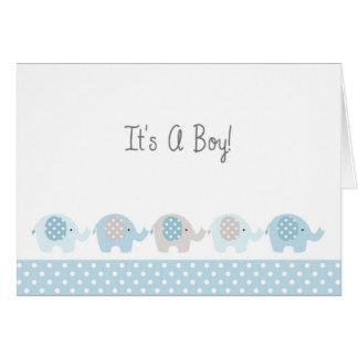 Cartão novo dos parabéns do bebé