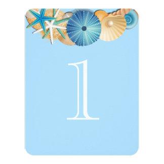Cartão Número Card-1 da mesa
