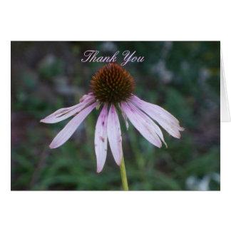 Cartão Nunca-Após o obrigado você